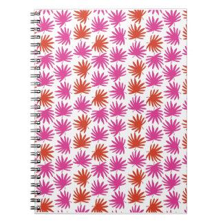 Tropical Fan Print Notebook
