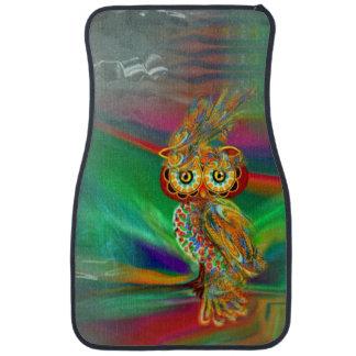 Tropical Fashion Queen Owl Car Mat