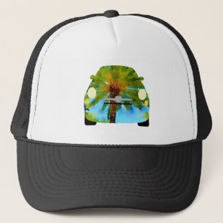 Tropical Fiat Trucker Hat