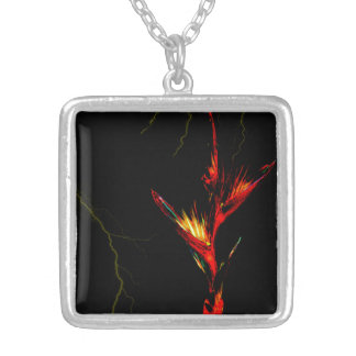 Tropical Fire Necklace