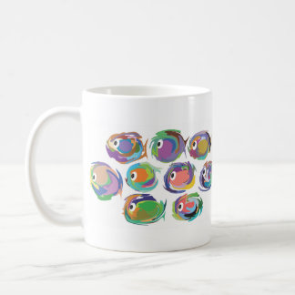 Tropical Fish 11 oz. mug