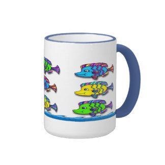 Tropical Fish 1 Coffee Mugs
