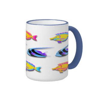 Tropical Fish 2 Coffee Mugs