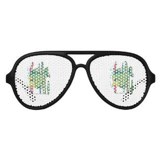 Tropical Fish Aviator Sunglasses