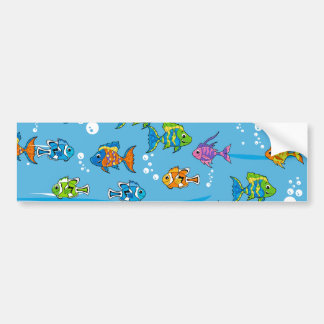 Tropical Fish Bumper Sticker
