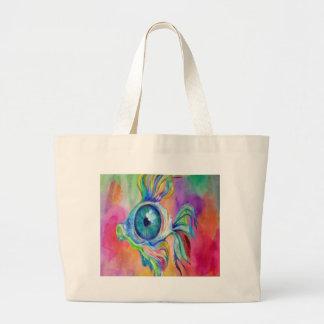 Tropical Fish Design Large Tote Bag