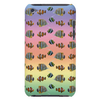 Tropical Fish Frenzy iPod Touch Case (Rainbow)