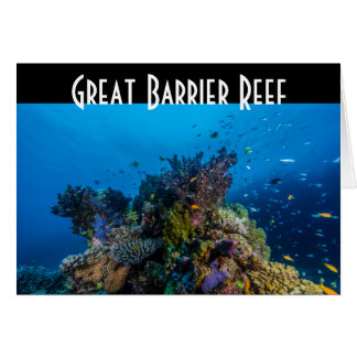 Tropical Fish Great Barrier Reef Coral Sea Greeting Card
