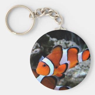 Tropical Fish Key Ring