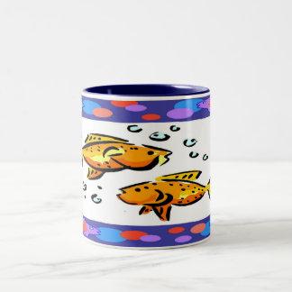 Tropical Fish Mugs