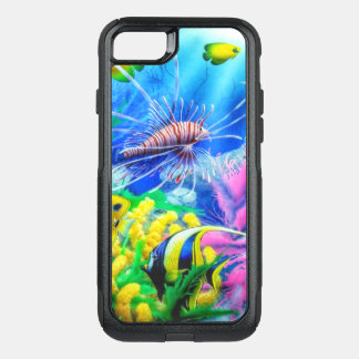 Tropical Fish OtterBox Commuter iPhone 8/7 Case
