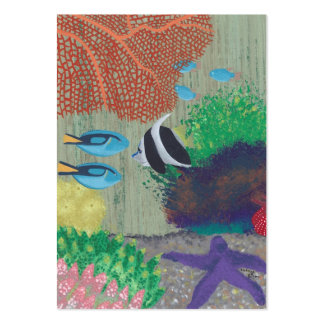 Tropical Fish Painting Artist Trading Card Business Card