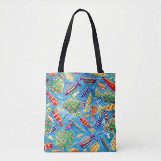 Tropical Fish Tote Bag