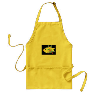 Tropical Fish - Yellow Standard Apron