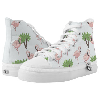 Tropical Flamingo High Tops
