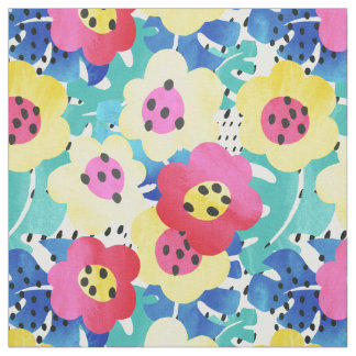 Tropical floral Fabric