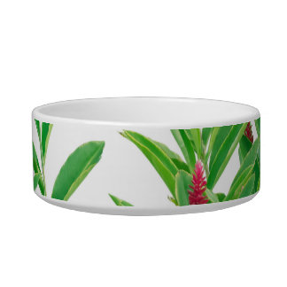 Tropical Floral Print Bowl