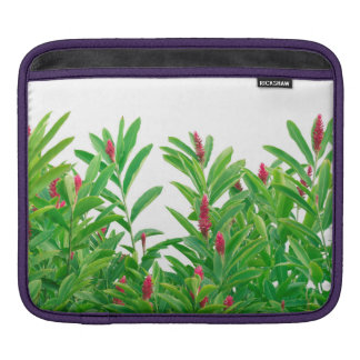 Tropical Floral Print iPad Sleeve