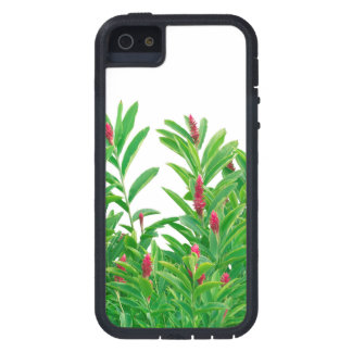 Tropical Floral Print iPhone 5 Case
