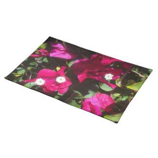 Tropical Floral Print, Retro Mood Placemat