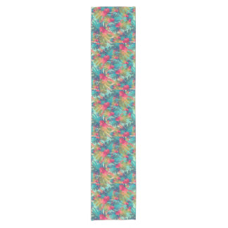 Tropical Floral Table Runner