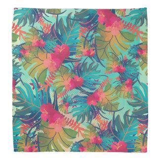 Tropical Floral Watercolor | Bandana