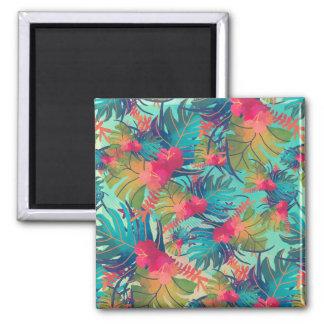 Tropical Floral Watercolor | Magnet