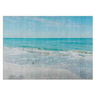 Tropical Florida Beach Sand Ocean Waves Sandpiper Cutting Boards