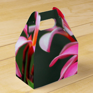 Tropical flower gift boxes