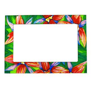 Tropical Flower Photo Frame