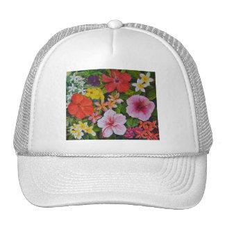 Tropical Flowers Cap