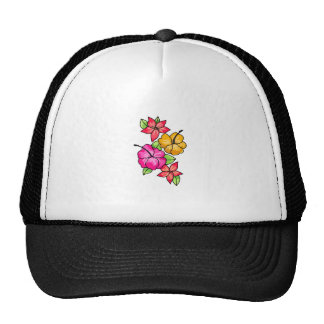 Tropical Flowers Trucker Hat