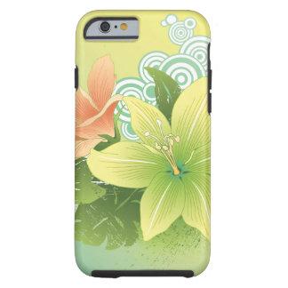 Tropical Flowers Tough iPhone 6 Case