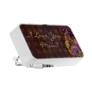 Tropical Flowers Mother's Day Bouquet Speaker