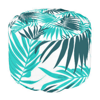 Tropical Forever Pouf