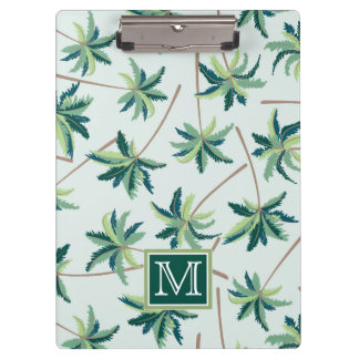 Tropical Foxtail Palm   Add Your Initial Clipboard