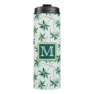 Tropical Foxtail Palm   Add Your Initial Thermal Tumbler