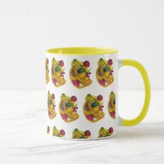 Tropical Fruit and Lei Mug