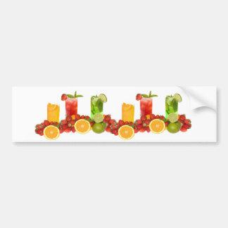 Tropical Fruit Bumper Sticker Car Bumper Sticker