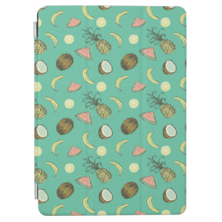 Tropical Fruit Doodle Pattern iPad Air Cover