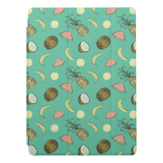 Tropical Fruit Doodle Pattern iPad Pro Cover