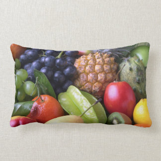 Tropical Fruit Lumbar Pillow