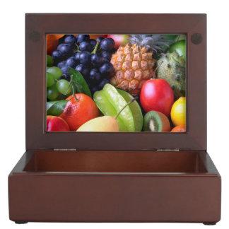 Tropical Fruit Memory Box