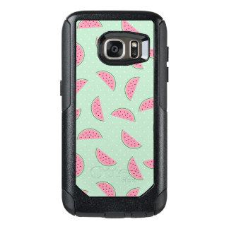 Tropical Fruit Paint Splatter Pattern OtterBox Samsung Galaxy S7 Case