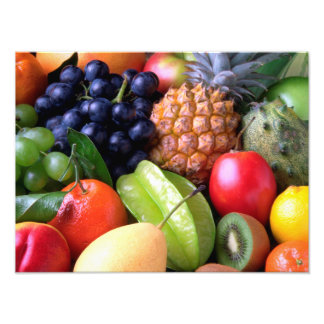 Tropical Fruit Photo Print