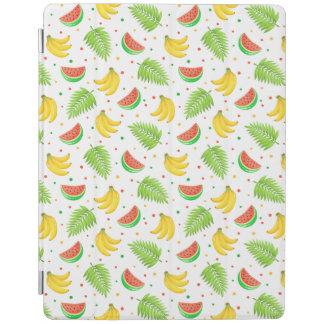 Tropical Fruit Polka Dot Pattern iPad Cover