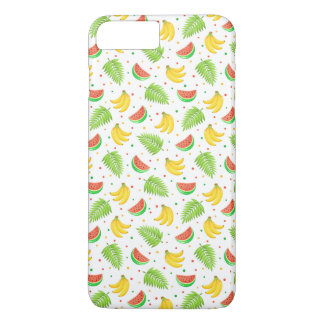 Tropical Fruit Polka Dot Pattern iPhone 8 Plus/7 Plus Case
