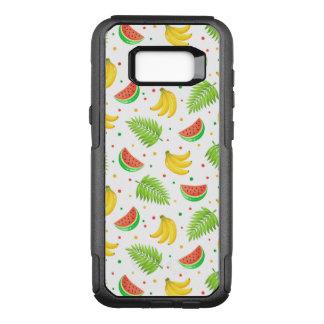 Tropical Fruit Polka Dot Pattern OtterBox Commuter Samsung Galaxy S8+ Case