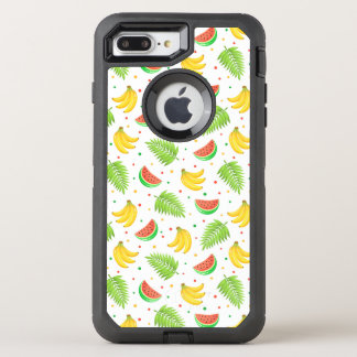 Tropical Fruit Polka Dot Pattern OtterBox Defender iPhone 8 Plus/7 Plus Case