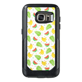 Tropical Fruit Polka Dot Pattern OtterBox Samsung Galaxy S7 Case